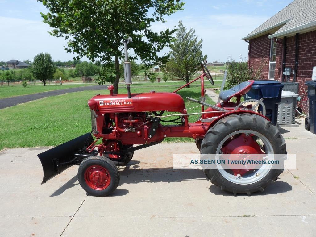 Restored Ih Tractors : Restored international harvester mccormick farmall