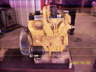 Cat Mdl 3054 Engine Turbocharged photo