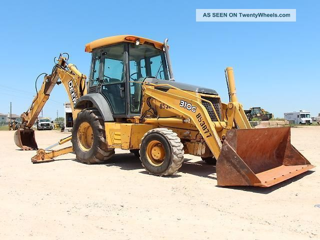 John Deere 310G Backhoe Loader