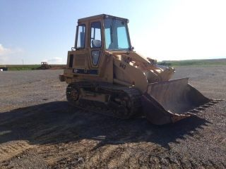 1984 Cat Caterpillar 943 Crawler Track Loader Construction Machine Bulldozer. . . photo