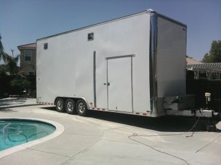 26 ' Pace Shadow Gt Stacker Trailer photo