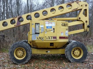 Grove 56 Feet Manlift Amz56xt photo