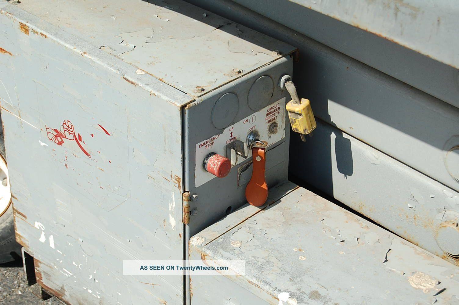 mec 2548ht electric scissor lift manual