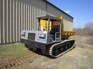 Morooka Mst1100 Track Dump Truck Crawler Carrier 5.  5 Ton Capacity photo