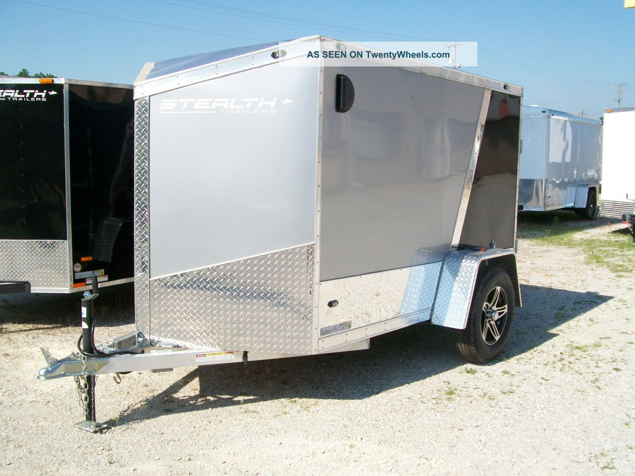 Motorcycle Trailer 5 ' X8 ' +24