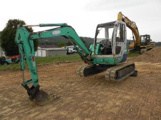 2000 Ihi 40jx Mini Excavator Cab Heat Swing Boom 2 Speed Isuzu Diesel Coupler photo