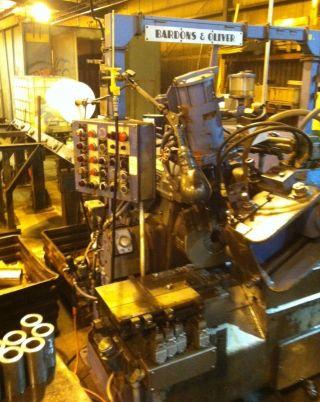 Bardons & Oliver Cut - Off Machine photo