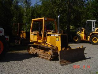 John Deere 450g Series Iv Real Fresh Rails photo