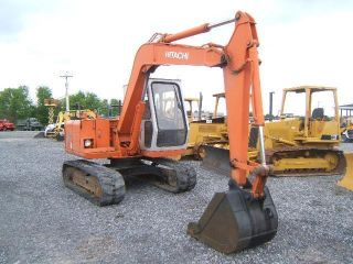 Hitachi Ex60g Excavator photo