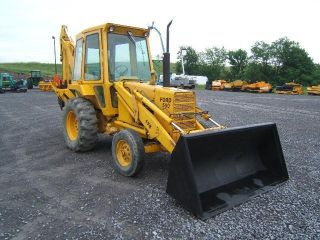 Ford 550 Backhoe photo