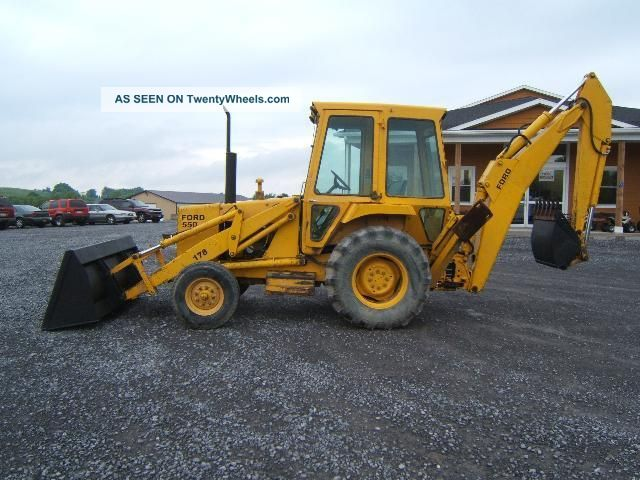 ford  loader backhoe specifications