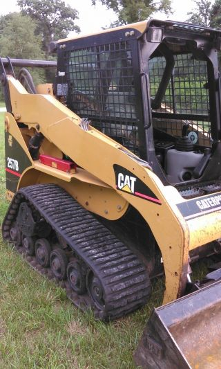 Caterpillar 257b Skid Loader With Air And Heat photo