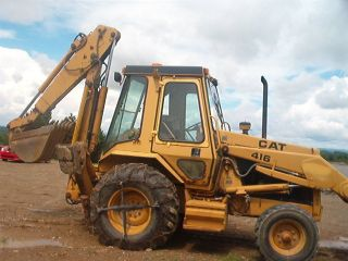 Cat - 416 Tractor / Loader/backoe photo