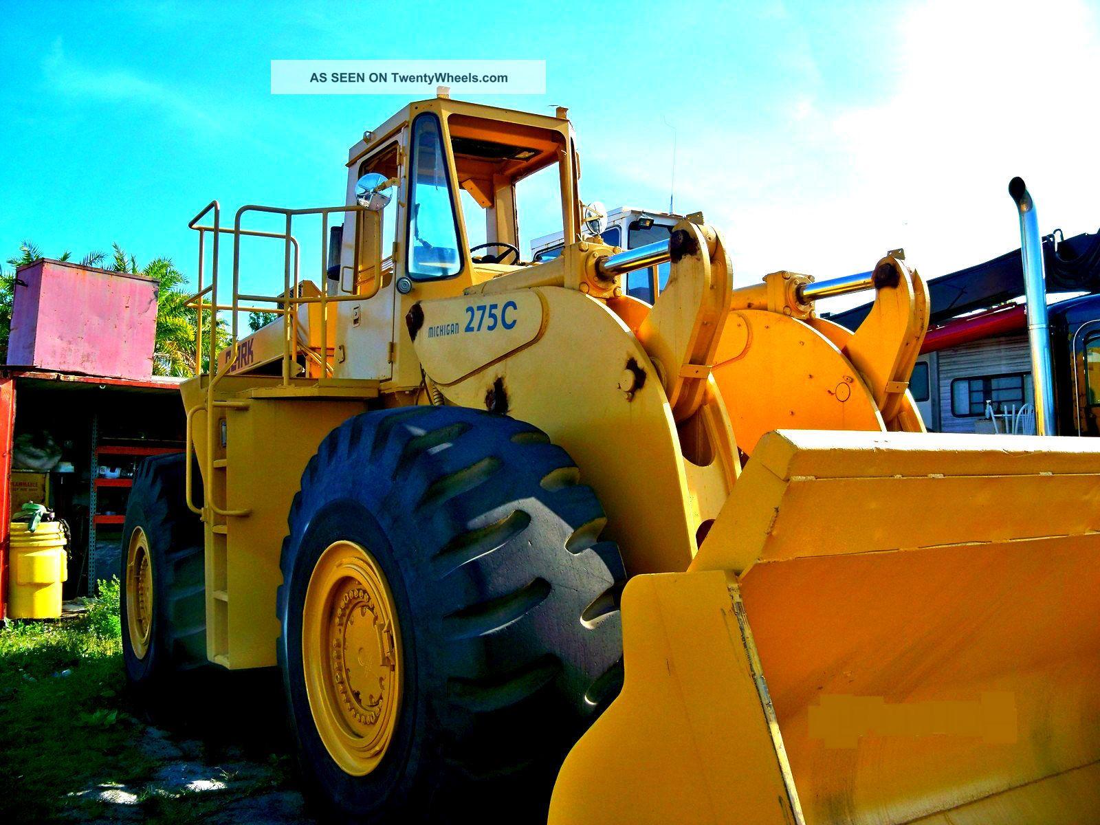Wheel Loader,  Michigan Clark 275c Other photo
