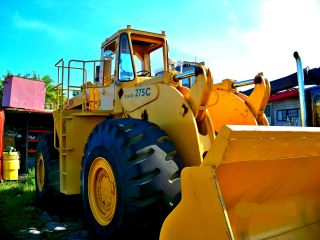 Wheel Loader,  Michigan Clark 275c photo