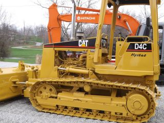 Dozer 99 Cat D4c Iii Hystat photo