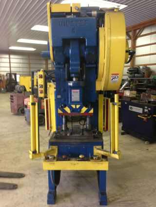 45 Ton Minster Model 5 Obi Punch Press photo