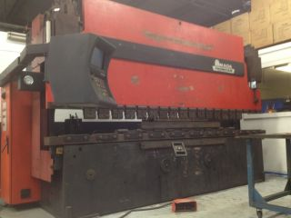 190 Ton Amada Press Brake With Tooling - 1998 - Must Sell photo
