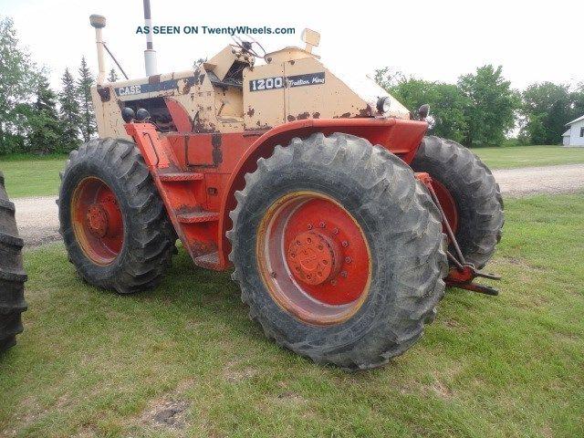 Case Tractors Four Wheel Drive : J i casetraction king four wheel drive tractor pulling