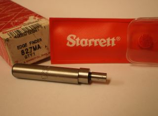 Starrett 827ma Edge Finder,  Single End,  10mm Body Diameter,  6mm Contact Diamete photo