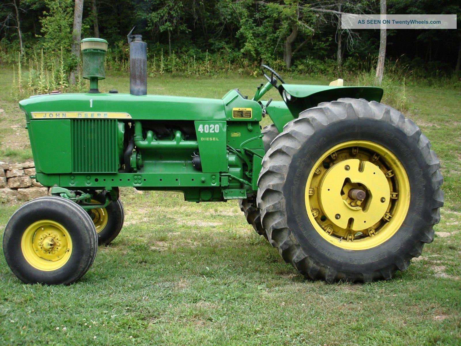 1967 4020 John Deere Tractor Diesel