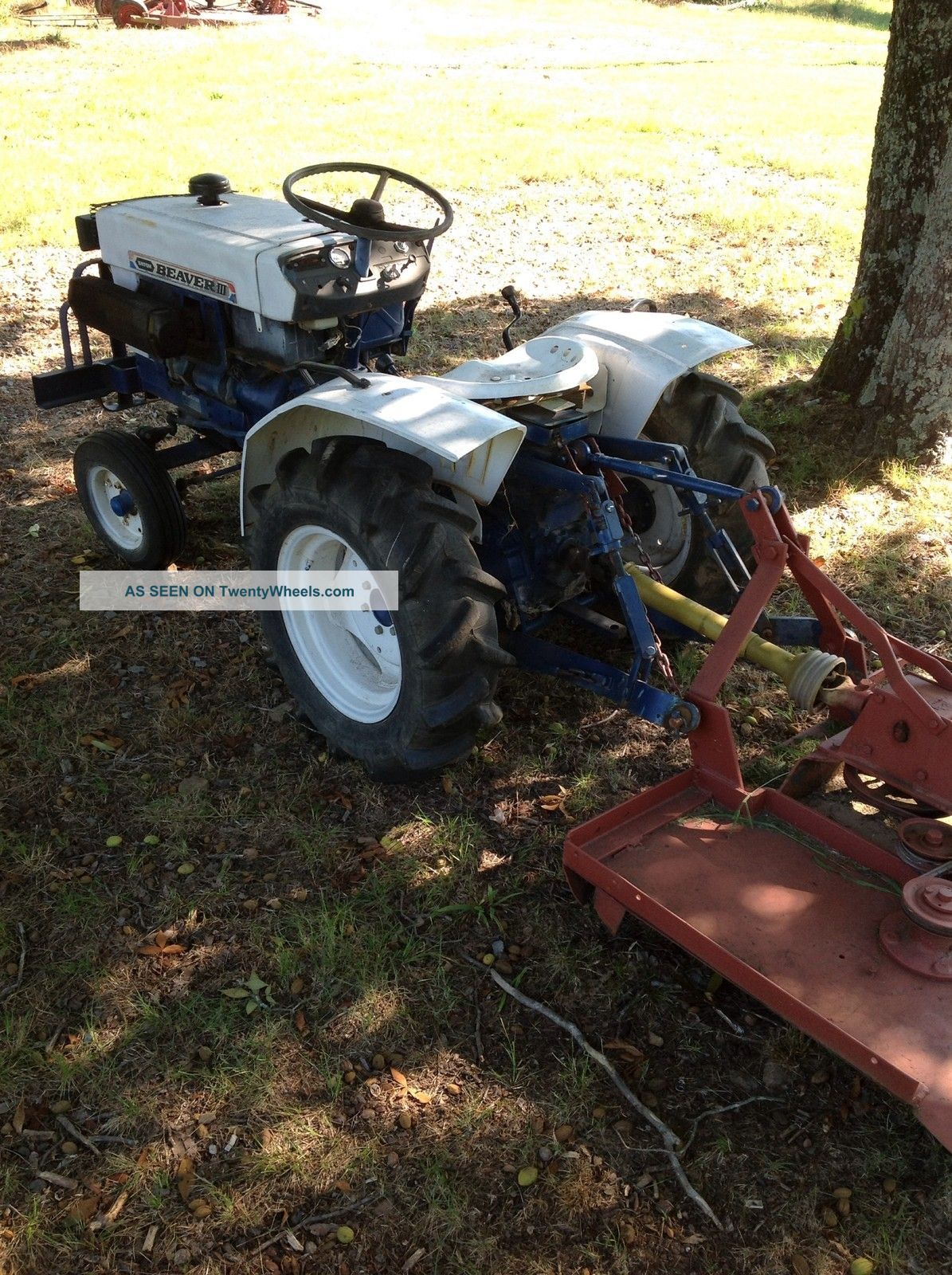 Satoh S550g Tractor : Mitsubishi satoh beaver tractor car interior design