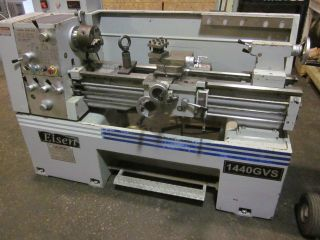 Eisen 1440 Gvs Gap Bed Engine Lathe With 6.  00