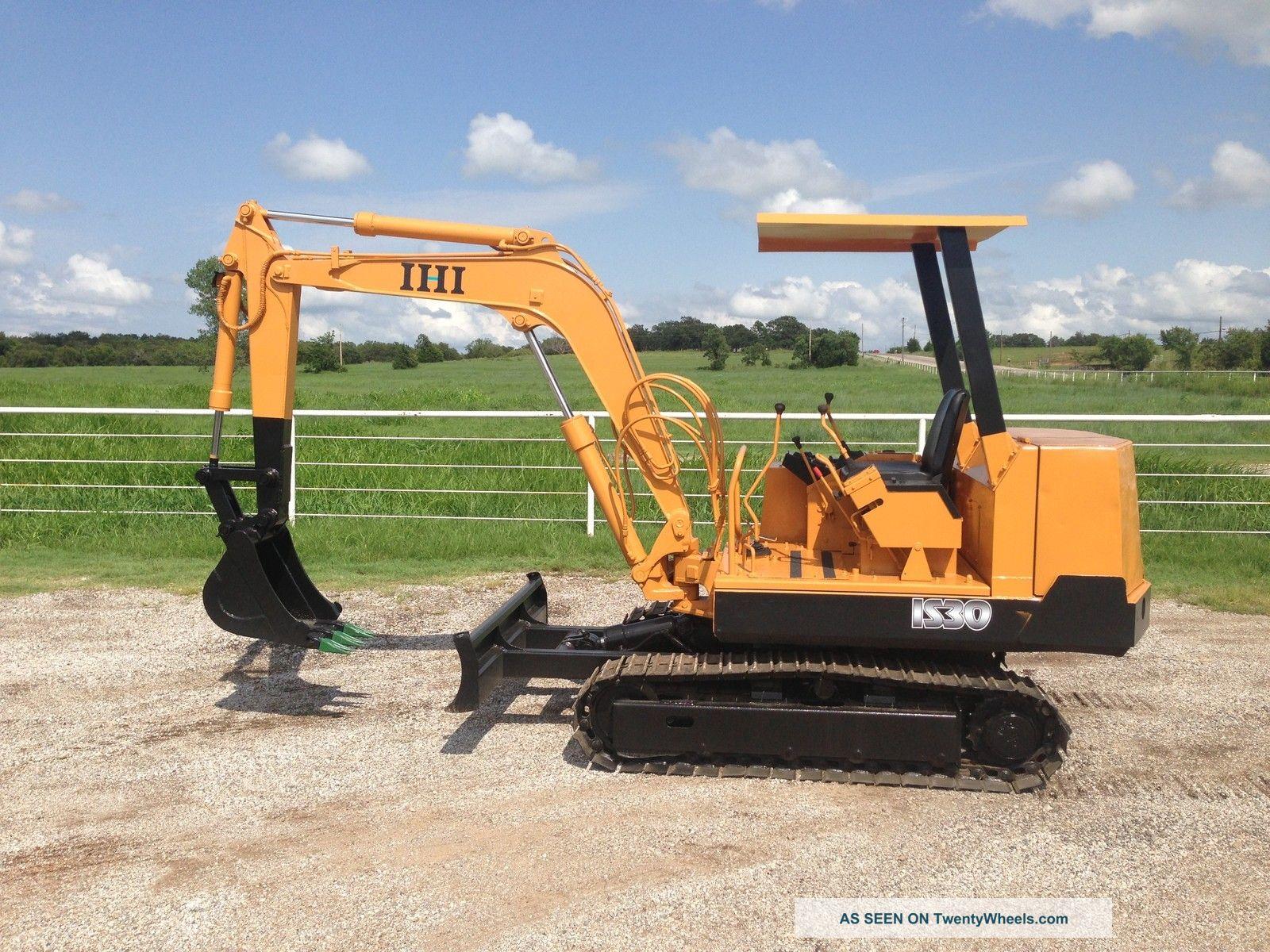 Ihi Is30f2 Mini Excavator Trackhoe Backhoe Dozer Isuzu Diesel Excavators photo