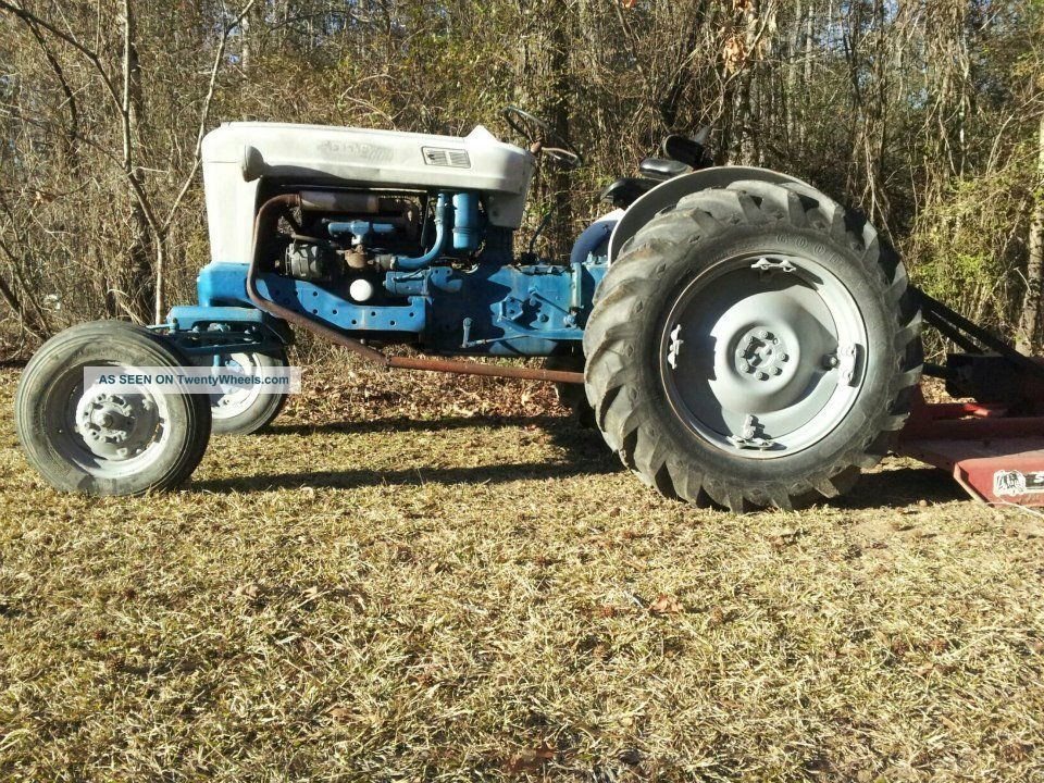 1963 Ford 4000 Tractor Tractors photo