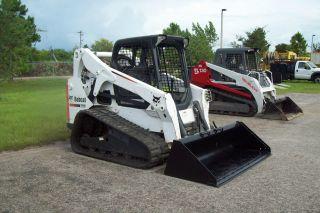 Bobcat T650 Demolition Pkg,  500 Ft Lb Hydraulic Hammer,  84