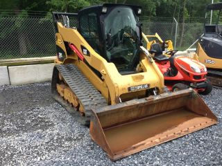 Caterpillar 299c Track Loader With Cab,  A/c,  80
