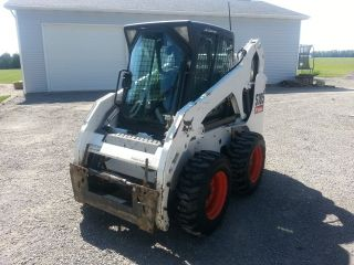 2006 Bobcat S185 706 Hours Cab,  Heat,  Air,  Power Quick Attach,  Tires photo