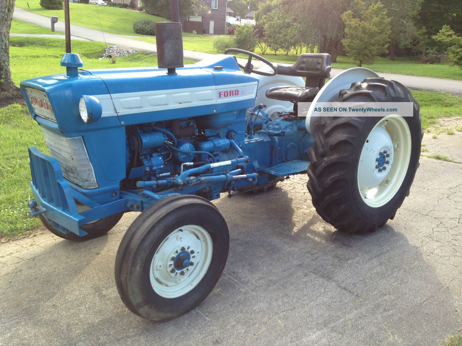 Ford 3000 Rims : Ford