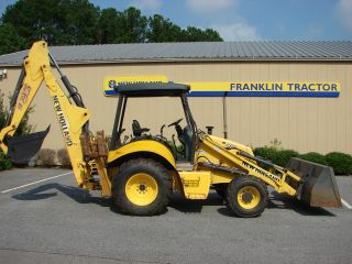 2009 Holland B95 4wd Backhoe Loader photo