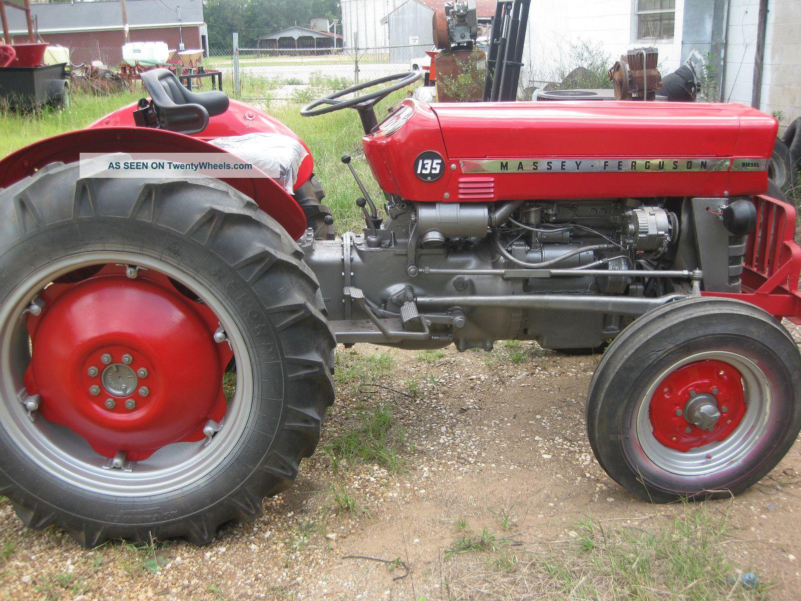 Massey Ferguson 135 Diesel 1971 Model Excellent Tractor