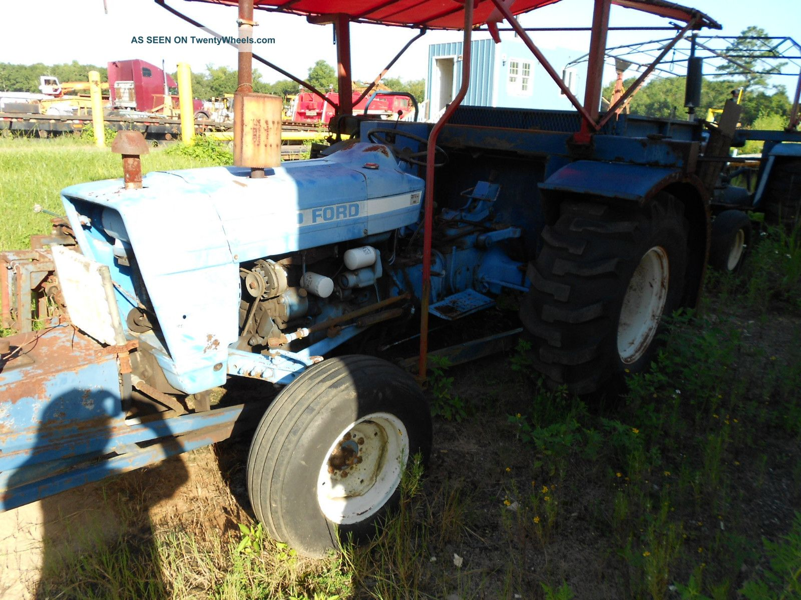 Ford 3600 Tractor Data : Ford tractor w sod harvester
