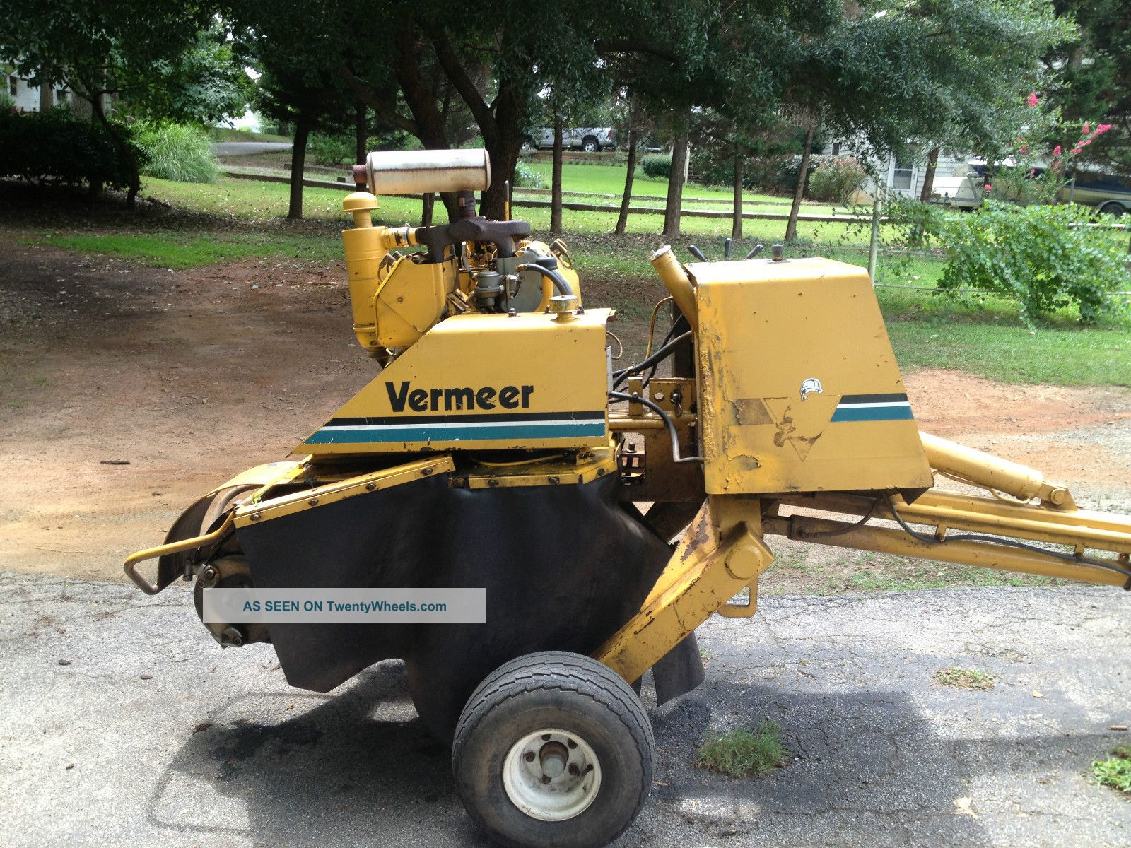vermeer 252 parts diagram vermeer stump grinder