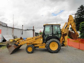 1991 Ford 4x4 555c Backhoe photo