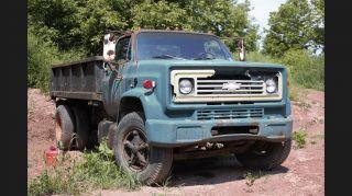 Chevy Dump Truck photo