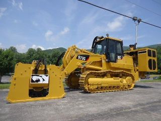 2004 Caterpillar 973c Crawler Track Loader,  Ironwolf 1040 Rock Grinder Crusher photo