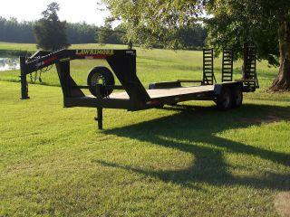 14k Gooseneck Equipmenttrailer photo