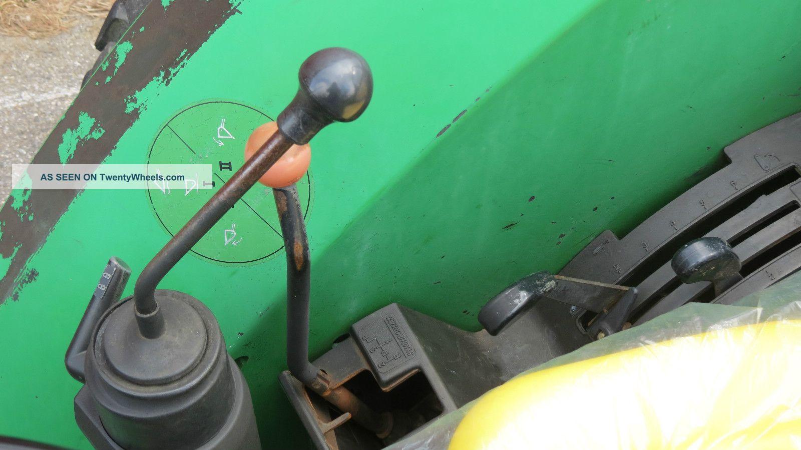 1995 john deere 5200 utility tractor 46 hp diesel dual remotes p  s Chevalier 3VKH FM