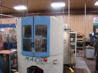 1996 Saeilo Mach 4 Cnc Horizontal Machining Center Fanuc 21m 400mm Pallet Mill photo