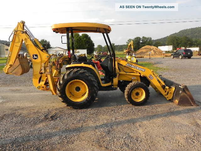 John Deere 110 Backhoe Seats : John deere tlb backhoe related keywords