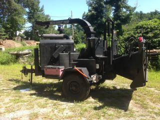 1997 Brush Bandit 250 Xp John Deere 110 Hp Works Perfect photo