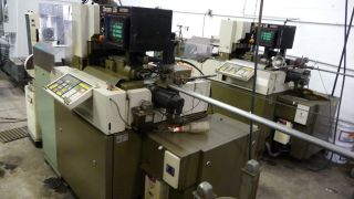 Citizen L - 16 Cnc Lathe Pair With Tooling - Swiss Style 1987 - 1988 photo