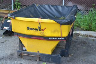 Snow Ex Vee Pro 6000 Salt Spreader photo
