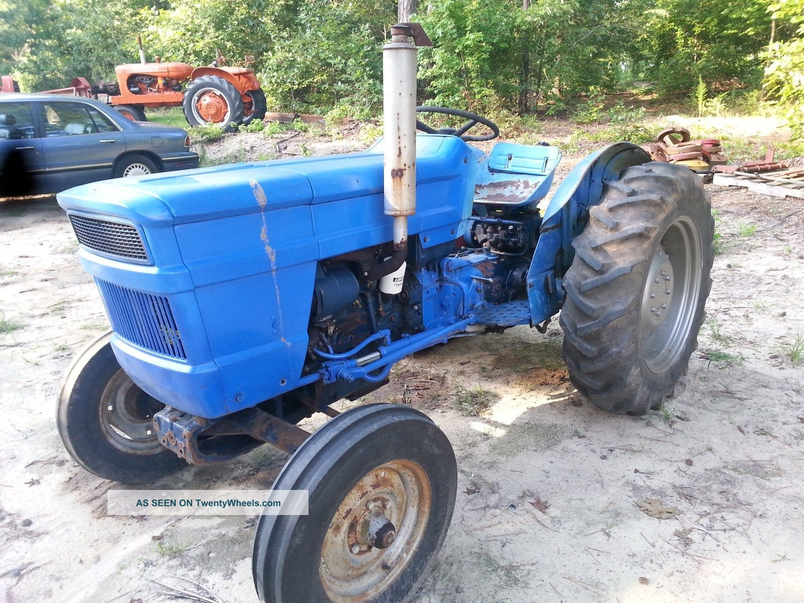 Tractor Live Pto : Long diesel tractor with power steering great tires