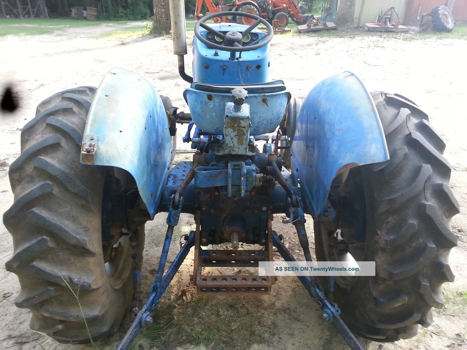 Long 350 Diesel Tractor With Power Steering Great Tires