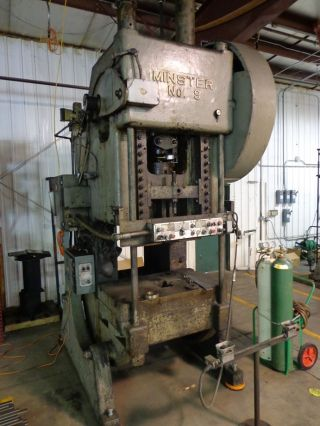 Punch Press Obi 110 Ton Minster Model No.  9 photo